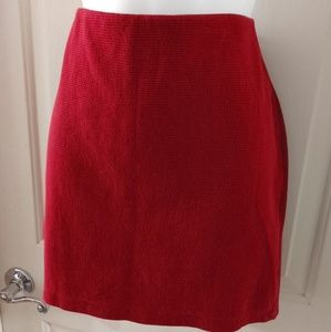 Old Navy mini skirt in cranberry size medium